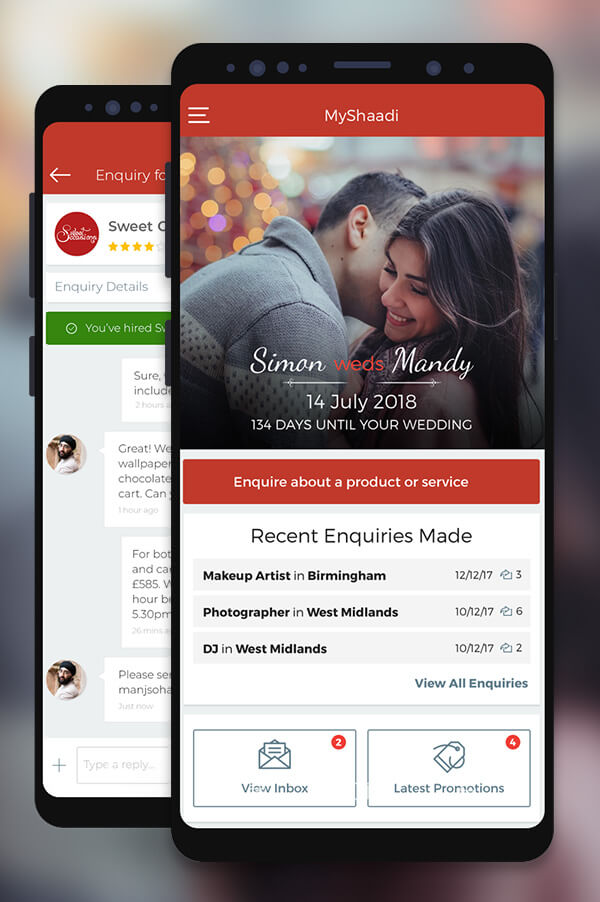 MyShaadi app screenshot preview